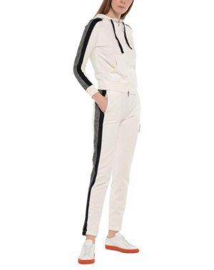 Спортивный костюм DEHA. Цвет: белый