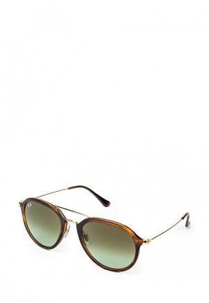 Очки солнцезащитные Ray-Ban® RB4253 820/A6. Цвет: коричневый