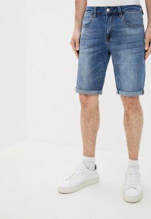 Шорты джинсовые Mossmore. Цвет: голубой