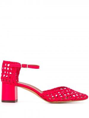 Плетеные туфли Petrus Michel Vivien. Цвет: красный