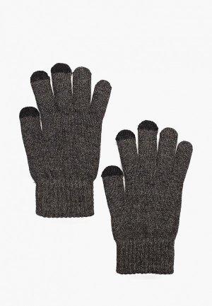 Перчатки Mango Man PE TOUCH. Цвет: серый