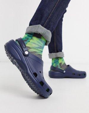 Темно-синие сандалии -Темно-синий Crocs
