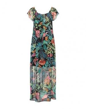 Платье длиной 3/4 FLY GIRL. Цвет: черный