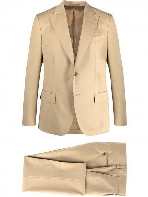 Костюм-двойка с однобортным пиджаком Caruso. Цвет: нейтральные цвета