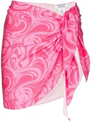 Саронг Pariso Frankies Bikinis. Цвет: розовый