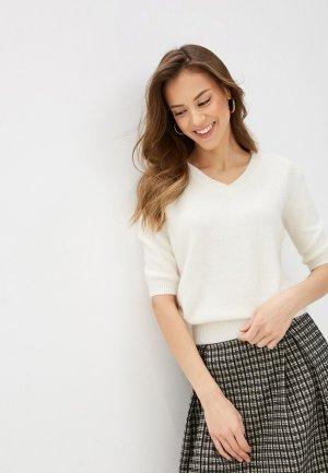 Пуловер Lusio. Цвет: белый