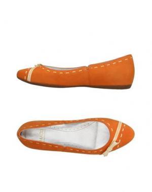 Балетки MAGLI by BRUNO. Цвет: оранжевый