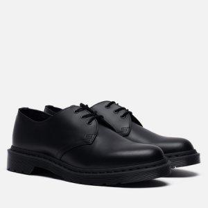 Ботинки 1461 Mono Smooth Dr. Martens. Цвет: чёрный