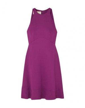 Короткое платье ANTONIO BERARDI. Цвет: розовато-лиловый