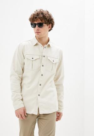 Рубашка джинсовая Pepe Jeans. Цвет: бежевый