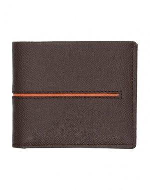 Бумажник TOD'S. Цвет: какао