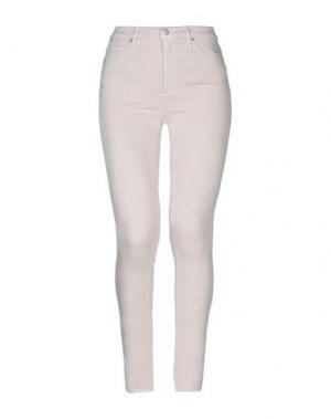Джинсовые брюки BLACK ORCHID. Цвет: светло-розовый