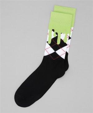 Носки HENDERSON. Цвет: зеленый
