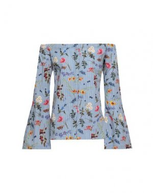 Блузка BAILEY 44. Цвет: грифельно-синий