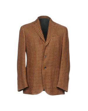 Пиджак STILE LATINO. Цвет: коричневый