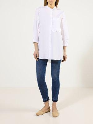 Рубашка Luisa Cerano. Цвет: belyy