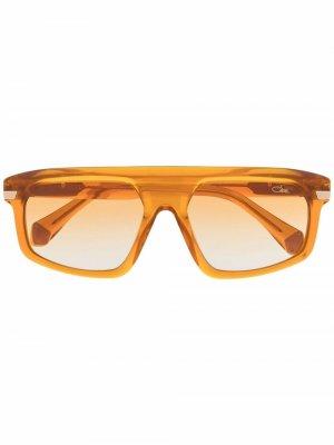 Солнцезащитные очки-авиаторы 8504 Cazal. Цвет: коричневый