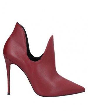 Ботинки CARRANO. Цвет: красно-коричневый
