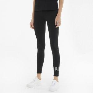 Леггинсы Essentials+ Metallic Womens Leggings PUMA. Цвет: черный