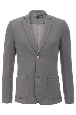 Пиджак Finn Flare. Цвет: 214 dark grey