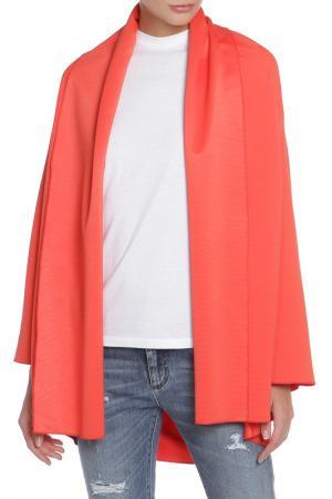 Пальто Cyrille Gassiline. Цвет: оранжевый