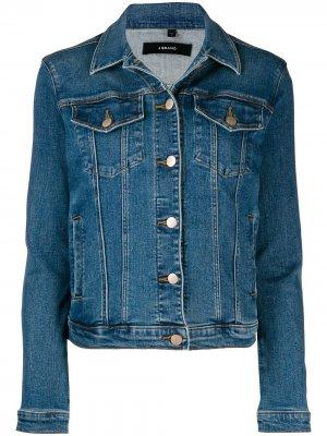 Джинсовая куртка кроя слим J Brand. Цвет: синий