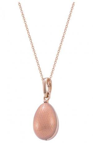 Кулон Mercury. Цвет: розовое золото