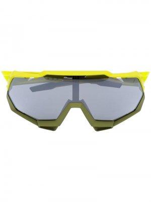 Солнцезащитные очки Speetrap Soft Tact 100% Eyewear. Цвет: желтый