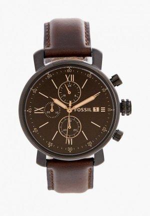 Часы Fossil BQ2459. Цвет: коричневый