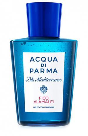 Гель для душа Blu Mediterraneo Fico di Amalfi Acqua Parma. Цвет: бесцветный