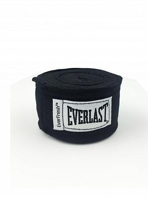 Бинты 3,5 м, 2 шт. Everlast. Цвет: черный