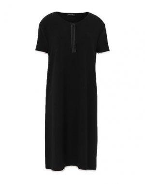 Короткое платье ANNECLAIRE. Цвет: черный