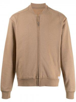 Куртка-бомбер на молнии 3.1 Phillip Lim. Цвет: нейтральные цвета