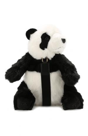 Рюкзак Vulcano Panda Dolce & Gabbana. Цвет: чёрный