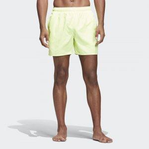 Пляжные шорты Solid Performance adidas. Цвет: желтый
