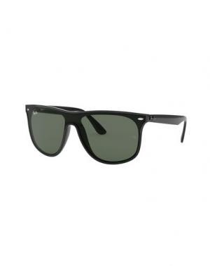 Солнечные очки RAY-BAN. Цвет: черный