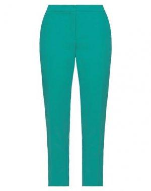 Повседневные брюки GAUDÌ. Цвет: изумрудно-зеленый