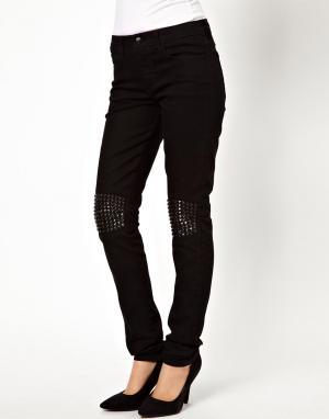 Джинсы скинни с заклепками на коленях Joes Jeans Joe's. Цвет: lynden