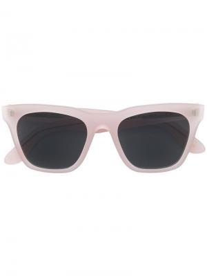 Солнцезащитные очки в квадратной оправе L.G.R. Цвет: розовый