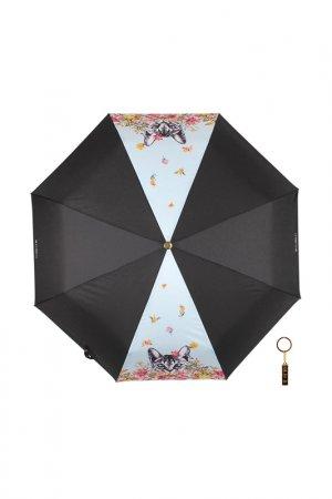 Зонт-автомат Flioraj. Цвет: голубой
