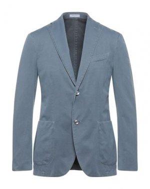 Пиджак BOGLIOLI. Цвет: пастельно-синий