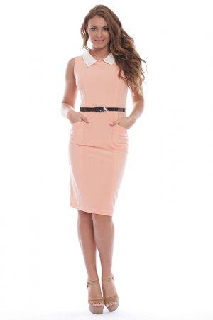 Платье Ines Collezione. Цвет: розовый