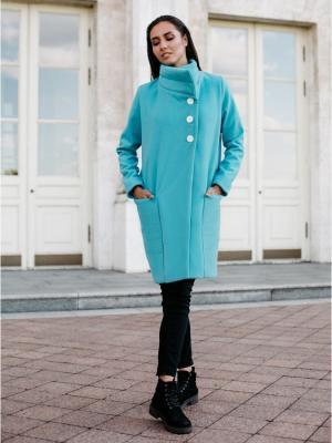 Пальто C.H.I.C.. Цвет: голубой