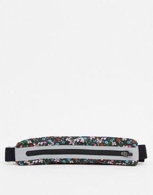 Черная сумка-кошелек на пояс Running-Черный цвет Nike