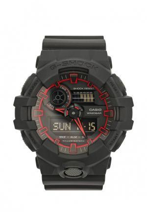 Часы Casio G-SHOCK GA-700SE-1A4. Цвет: черный