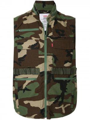 Жилет Tactical коллекции SS14 Supreme. Цвет: зеленый