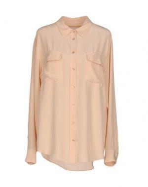 Pубашка EQUIPMENT. Цвет: телесный