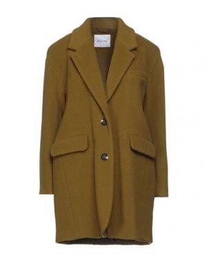 Пальто AMERICAN VINTAGE. Цвет: зеленый-милитари