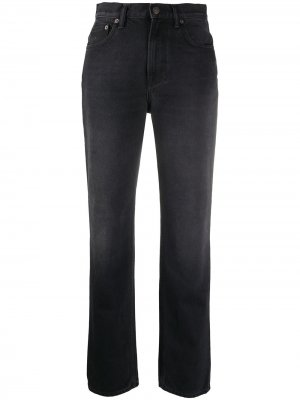 1995 washed out rigid slim-fit jeans Acne Studios. Цвет: черный