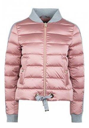 Бомбер HERNO. Цвет: розовый